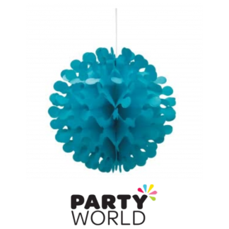 12in Flutter Ball - Caribbean Teal