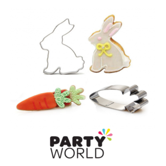 Rabit and Carrot Cookie Cutter