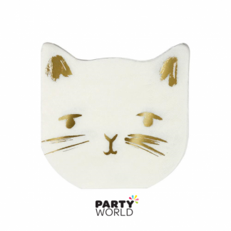 Cat Beverage Napkins Meri Meri (16)