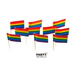 Rainbow Flag Picks (50)