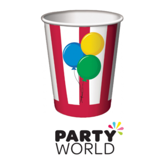 Circus Time Paper Cups (8)