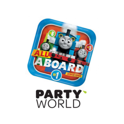Thomas & Friends All Aboard Paper Plates 9in (8)