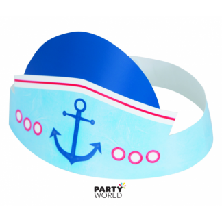 Nautical Birthday Party Hats (6)