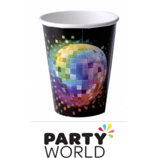 Disco Fever Paper Cups (8)