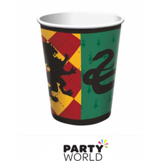 Harry Potter Houses Paper Cups (8)