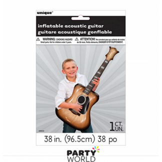 Inflatable Acoustic Guitar 38in / 96.5 cm