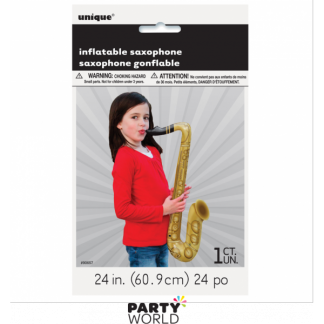 Inflatable Saxophone 54in / 60.9 cm