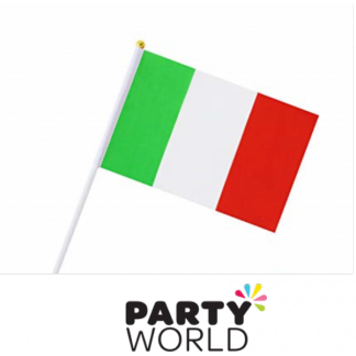 Italian Flag On Stick (1)