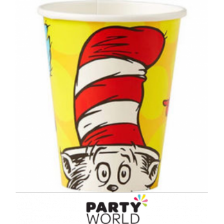 Dr Seuss Square Paper Cups (8)