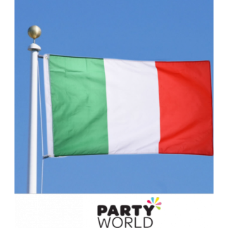 Large Italian Fabric Flag