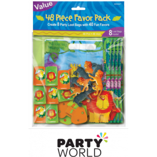 Jungle Animals Favor Pack (48pcs)
