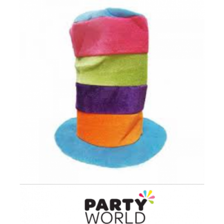 Large Rainbow Hat - 30cm Long