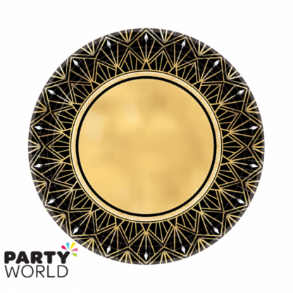 Roaring 20's Side Paper Plates (8)
