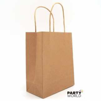 Brown Kraft Paper Gift Bag with Handle (1)