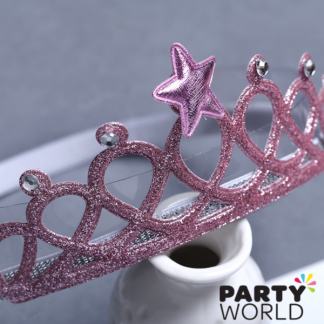 Princess Pink Crown Headband