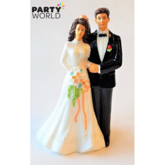 Bride & Groom Wedding Cake Figurine