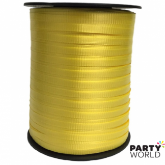Soft Yellow Curling Ribbon 457 metres