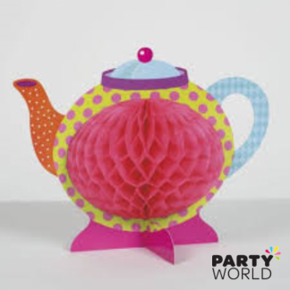 Tea Pot Honeycomb Decoration