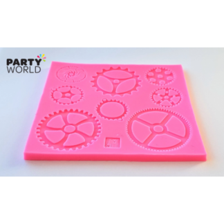 Steampunk Gears Silicone Mold