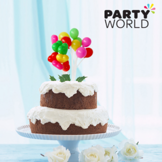 Plasic Balloon Cake Topper