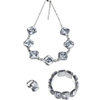 Roaring 20's Crystal Jewellery Set (3 pce)