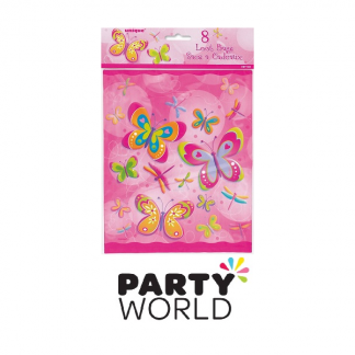 Butterfly Party Loot Bags (8)