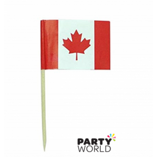 Canadian Flag Picks (20)
