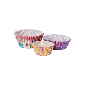 Pretty Floral Print Cupcake Cases (60)