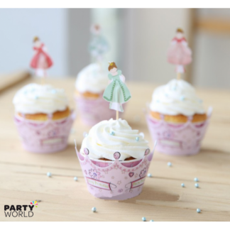 Fairy Princess Wrappers & Toppers (12)