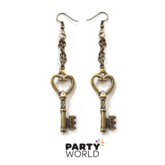 Steampunk Earrings - Keys