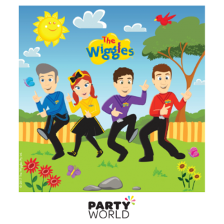 The Wiggles Luncheon Napkins (16)