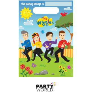 The Wiggles Plastic Loot Bags (8)