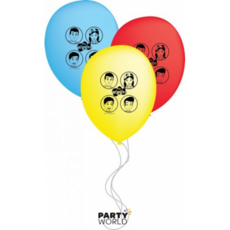 The Wiggles Latex Balloons (6)