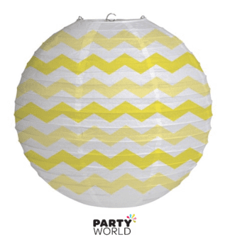 yellow chevron lantern