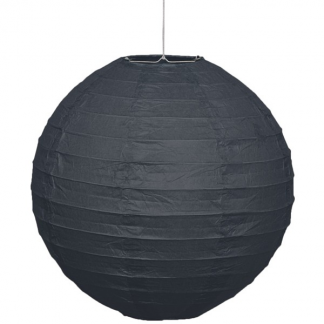 35 cm / 14 in Paper Lantern - Black