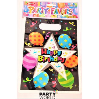 Happy Birthday Party Loot Bags (10)