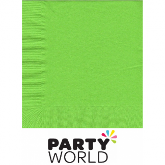 Fresh Lime Luncheon Napkins (50)