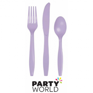 Cutlery Set - Luscious Lavender (24)