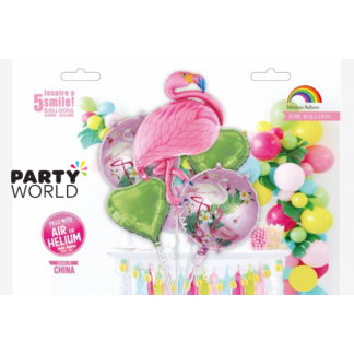 Giant Flamingo Balloon Set (5pcs)
