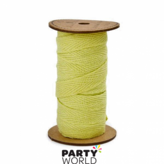 Meri Meri 3 Metres Flat Ribbon - Yellow