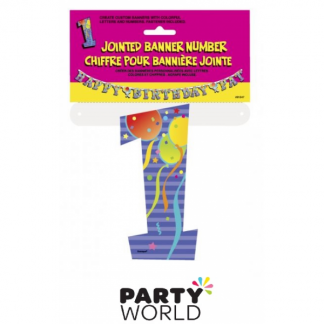 Jointed Banner - Number 1