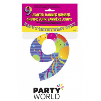 Jointed Banner - Number 9