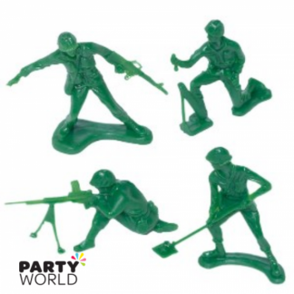 Camouflage Army Soldiers Figures (24)