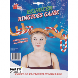 Reindeer Inflatable Ringtoss Game