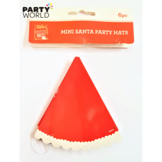 Mini Santa Party Hats (6)