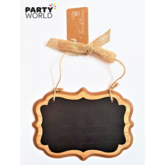 Decorative Mini Wooden Blackboard