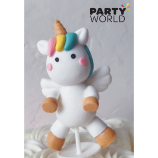 Unicorn Angel Cake Topper 7.5 cm