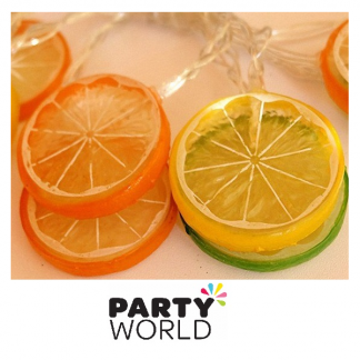 LED - Citrus Fruit Slices Battery Lights