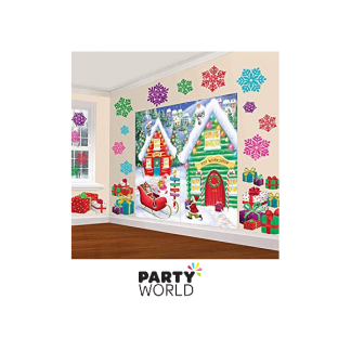 Christmas Wall Decorating Kit