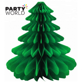Christmas Tree Honeycomb Decoration
